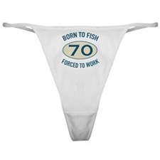 70th Birthday Fishing Classic Thong