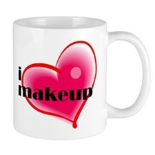 """I Love Makeup"" Mug Mugs"