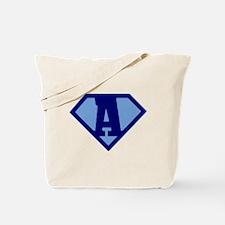 Super Hero Letter A Tote Bag