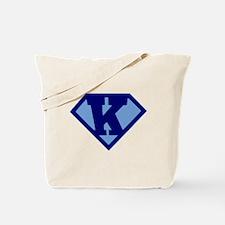 Super Hero Letter K Tote Bag