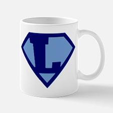 Super Hero Letter L Mug