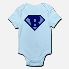 Super Hero Letter B Body Suit