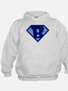 Super Hero Letter B Hoodie