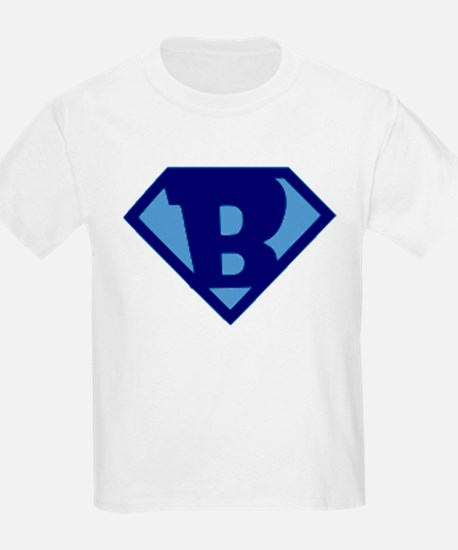Super Hero Letter B T-Shirt
