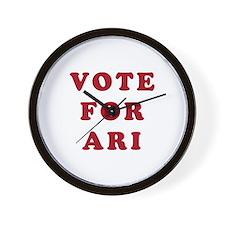 Vote for Ari - Entourage Wall Clock
