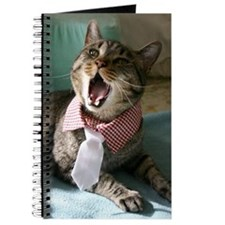 Cool Cat with an attitude Journal