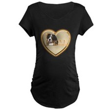 Veteran Heart Maternity T-Shirt