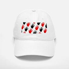 Black Red Right Hand Clack Turkey 28 Baseball Baseball Cap