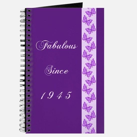 Fabulous Since 1945 Journal