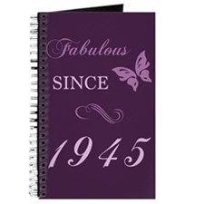 Fabulous Since 1945 Journal