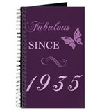 80th birthday women Journals & Spiral Notebooks