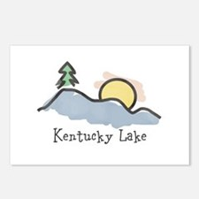 Lake Sunset Postcards (Package of 8)