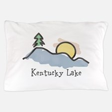 Lake Sunset Pillow Case