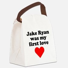 Jake Ryan Was My First Love Canvas Lunch Bag