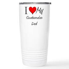 Cute Guatemala map Travel Mug