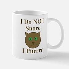Me? Snore? Mug