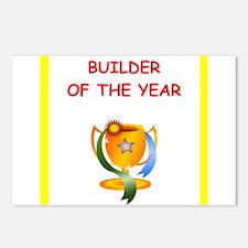 builder Postcards (Package of 8)