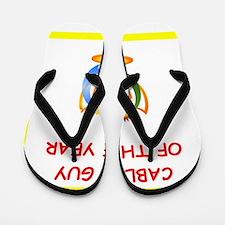 cable tv Flip Flops