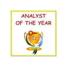 analyst Sticker