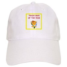 trash man Baseball Baseball Cap