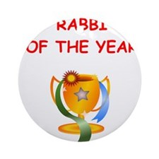 rabbi Ornament (Round)