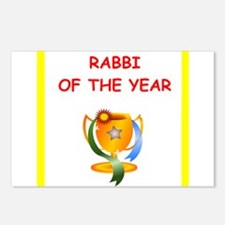 rabbi Postcards (Package of 8)