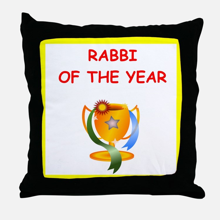 rabbi Throw Pillow
