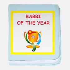 rabbi baby blanket