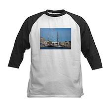 Tall Ships at Pt Adelaide South Au Baseball Jersey