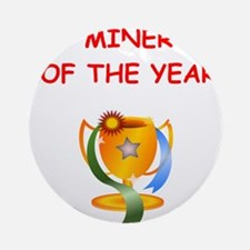 miner Ornament (Round)