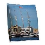 Australia flag pillow Burlap Pillows