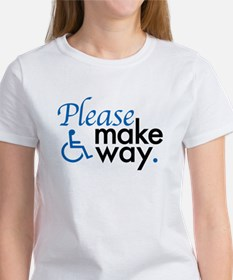 Cute Handicap placard Tee