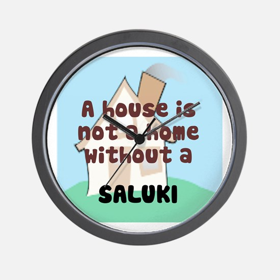 Saluki Home Wall Clock