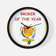 broker Wall Clock