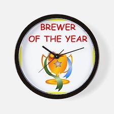brewer Wall Clock