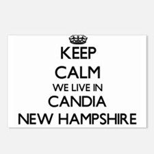 Keep calm we live in Cand Postcards (Package of 8)