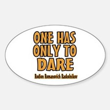 Do You Dare Decal