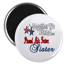"""Air Force Sister 2.25"""" Magnet (10 pack)"""