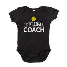 Pickleball Coach Baby Bodysuit