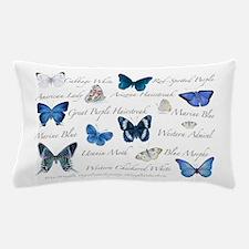 Beautiful Blue Butterflies Pillow Case