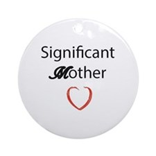 Mothers Love Round Ornament