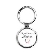 Mothers Love Round Keychain