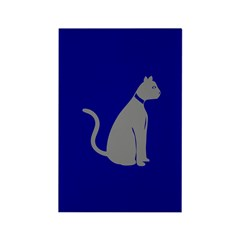Gray Cat Rectangle Magnet (10 pack)