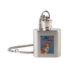 Portuguese Podengo Flask Necklace