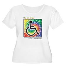 Hip, but gimpy Plus Size T-Shirt