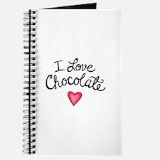 I LOVE CHOCOLATE Journal