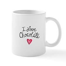 I LOVE CHOCOLATE Mugs