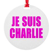 JE SUIS CHARLIE Ornament