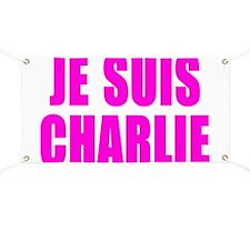 JE SUIS CHARLIE Banner