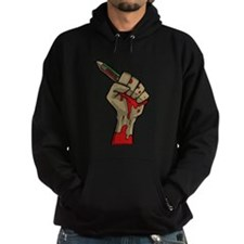 Je suis Charlie, Bloody Hand with Pencil Hoody